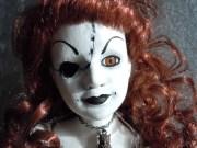 scary doll spooky horror
