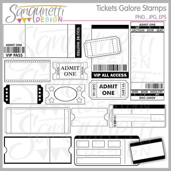 Tickets Galore Clipart Ticket Clipart Ticket Clip Art Movie