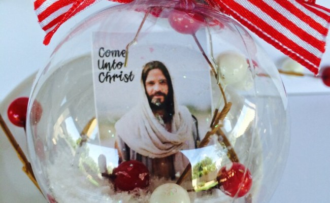 Come Unto Christ Christmas Ornament Lds Young By Marcicoombs