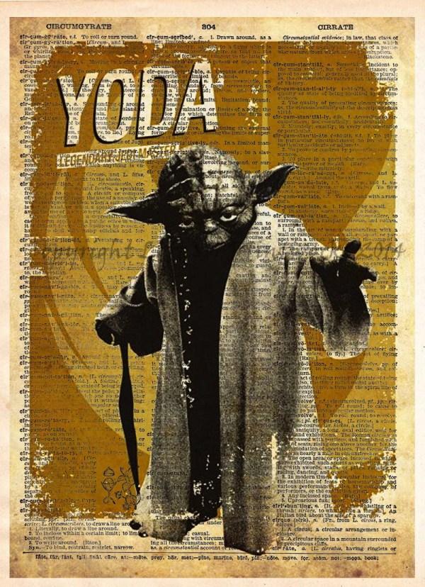 Star Wars Silhouettes Art Print