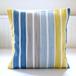 Burnt Orange Rocking Chair Cushions Baby High Sale Teal Blue Beige White Stripe By Littlejoobieboo
