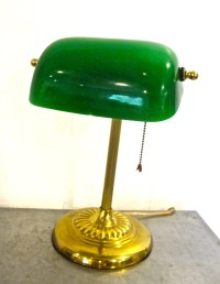 vintage library lamp 1940s