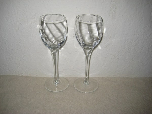 Vintage Cordial Glasses Set Of Two 2