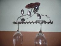 Decorative Rake Wine Glass Holder One of a Kind
