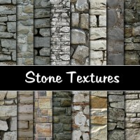 """Stone Wall Digital Paper Pack - Instant download """"STONE ..."""