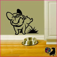 French Bulldog wall decal