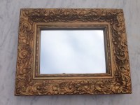 Vintage Gold gilded frame mirror Antique Victorian gold gilt