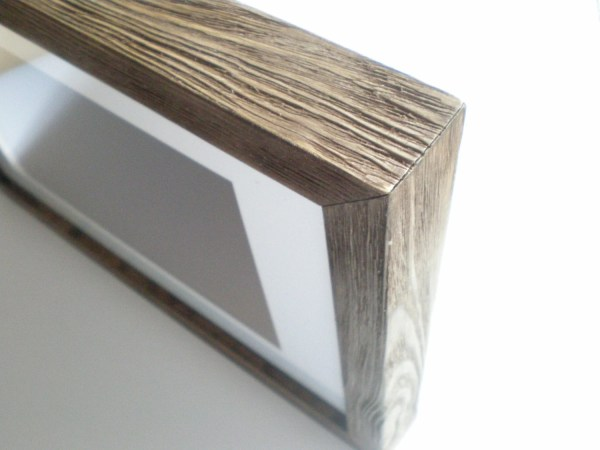 Frame 12x16 Brown 30x40 Cm Rusticframeshop