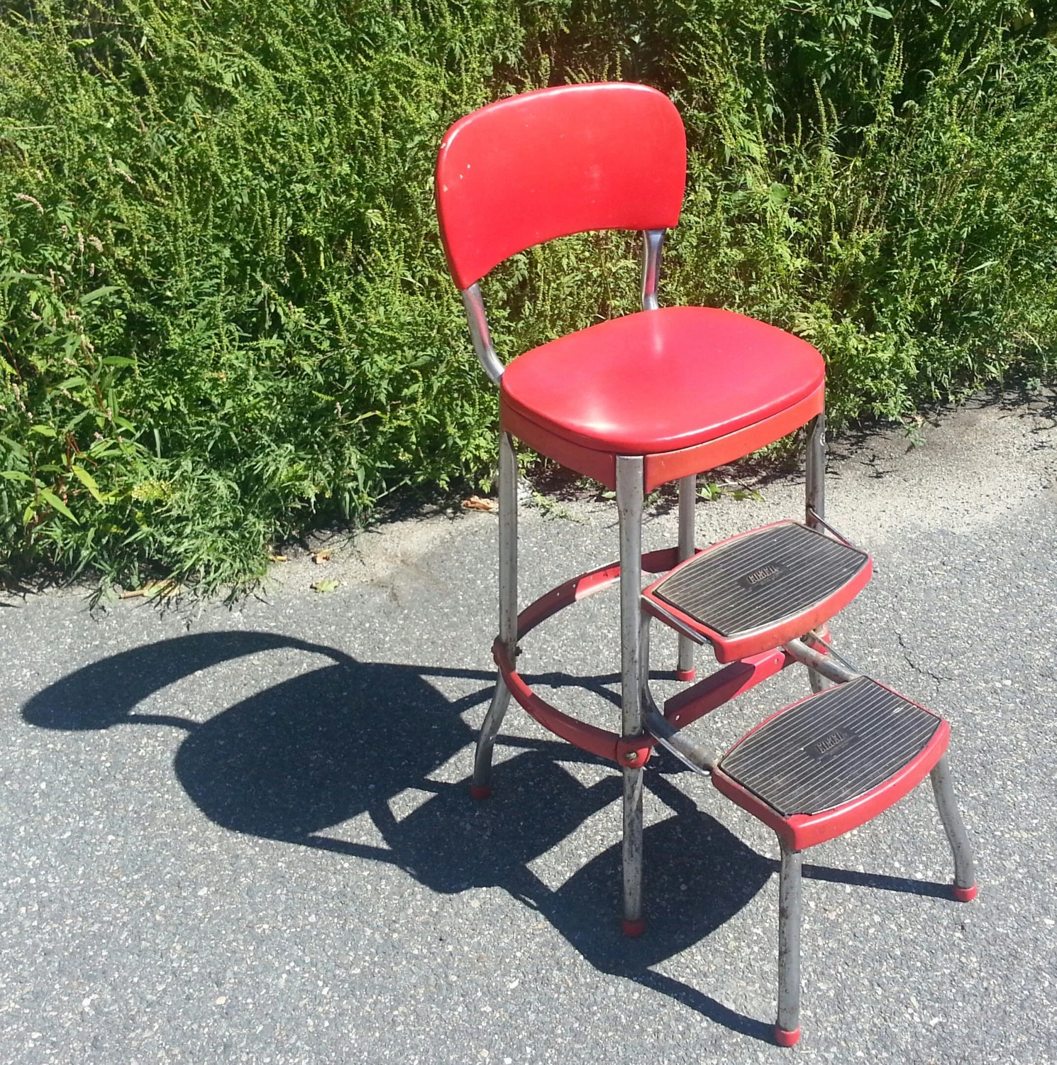 Vintage COSCO High Chair  Booster Seat with retractable
