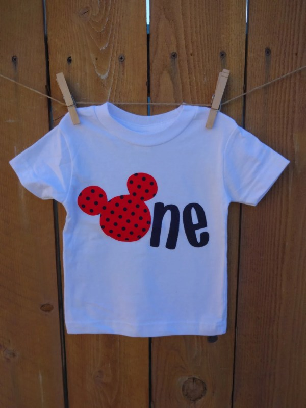 20 Mickey Mouse First Birthday T Shirts Miami Pictures And Ideas On