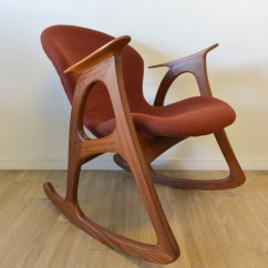 Modern Rocking Chair Singapore Clear Dining Sale Danish Teak By Themodernvault