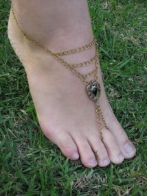 Stunning Gypsy Wedding Barefoot Sandal Bohemian