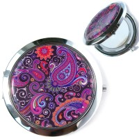 Patterns Pocket Mirror // purse mirror compact by ...