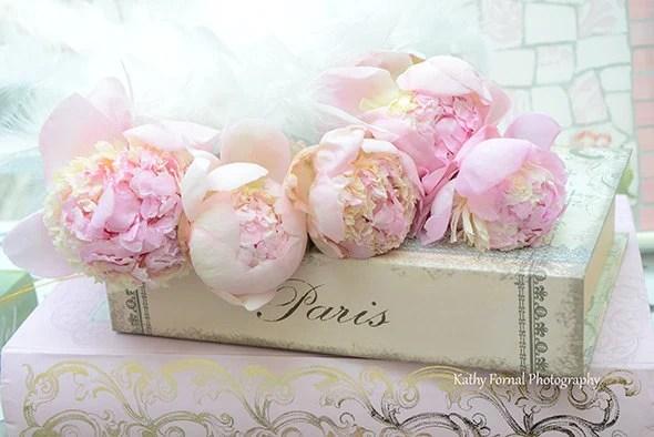 Paris Peony Photograph Pink Peonies Paris Pink Peonies