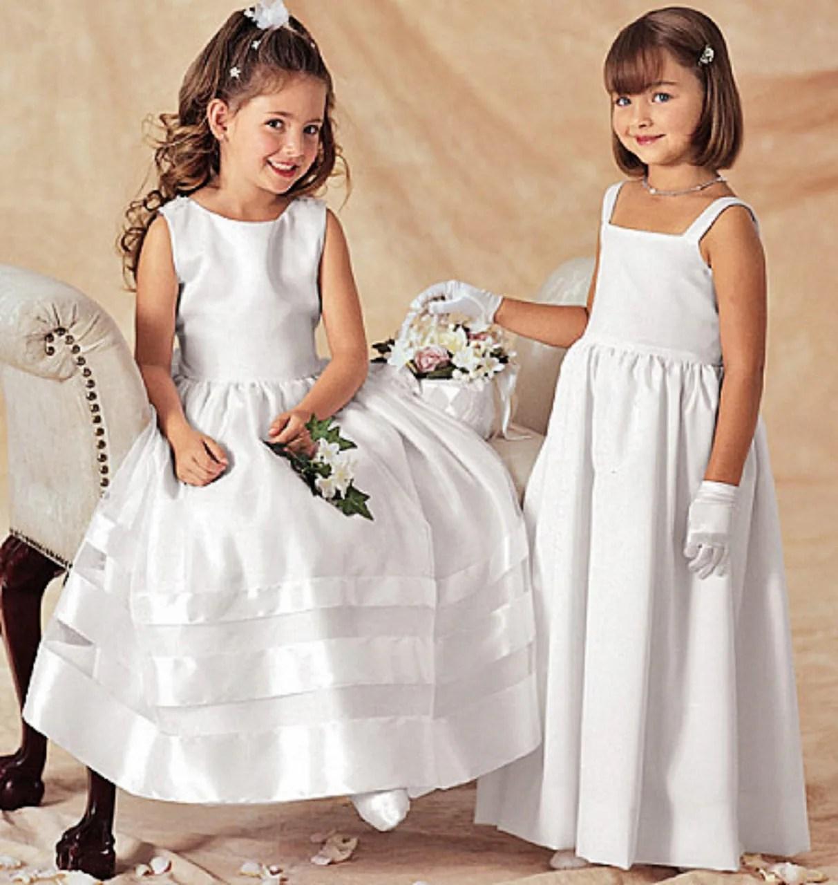 Girls Special Occasion Dress Pattern Flower Girl Dress