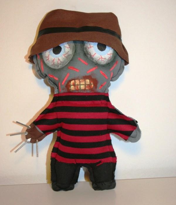 Freddy Krueger Zombie Doll 9 Inches 22 Cm