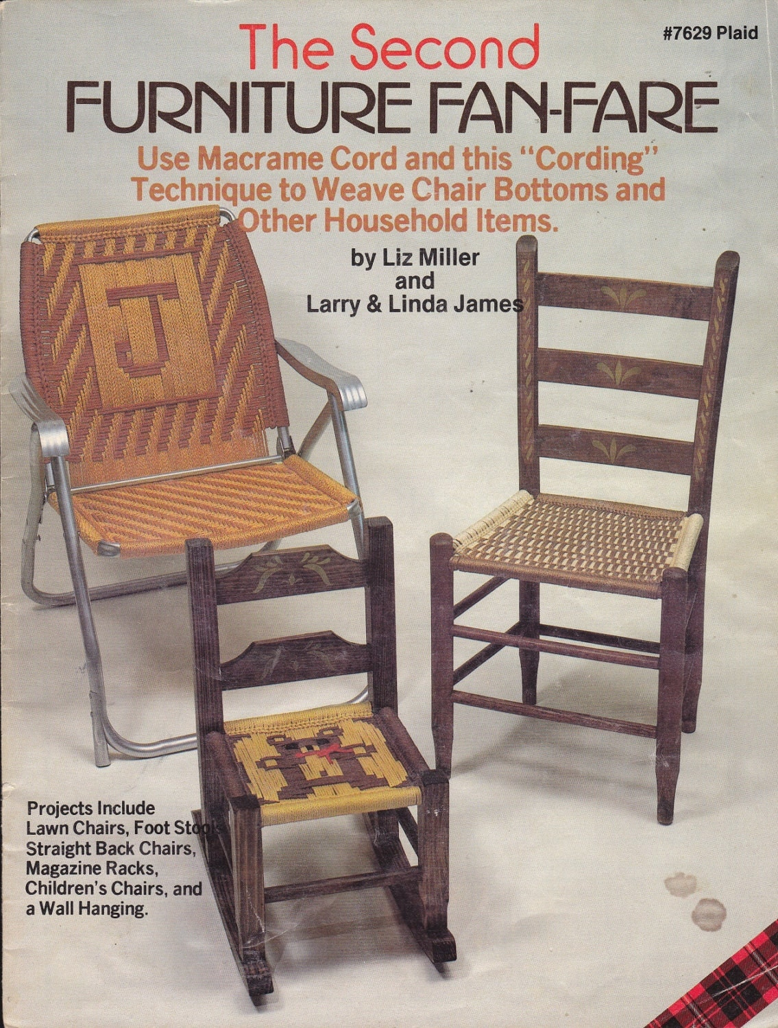 macrame lawn chair multipurpose gym pattern cord weaving for chairs and other household