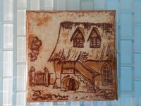 Vintage Italy Tile Trivet Cottage Country by ...