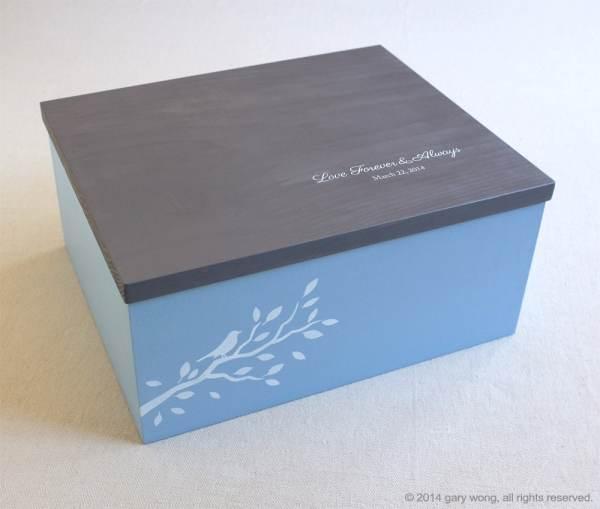 Personalized Wooden Keepsake Boxes