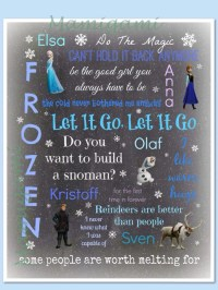 Popular items for frozen wall art on Etsy