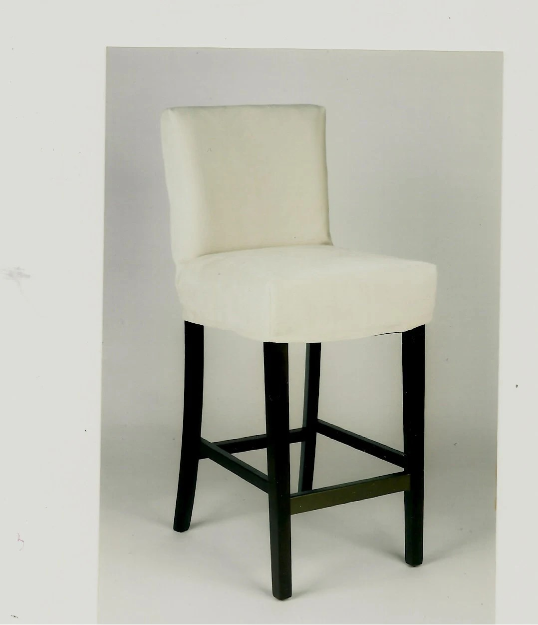 counter height chair covers wheelchair scooter custom barstool stool slipcovers by