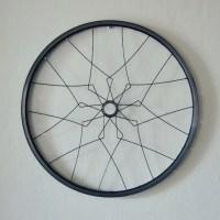 Bicycle wall art MALACCA geometric home decor recycled bike