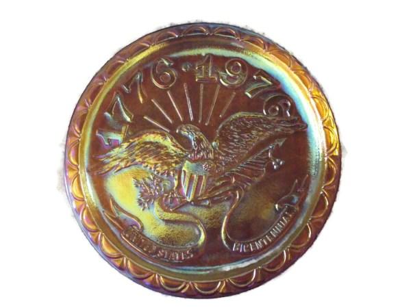 Carnival Glass Bicentennial Plate