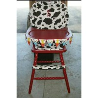 High Chair Cushions Wooden High Chair Pads Covers