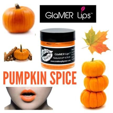Pumpkin Spice Natural Lip Scrub