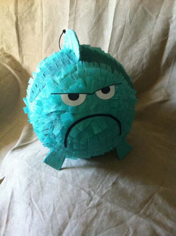 Grumpy Fish Piata