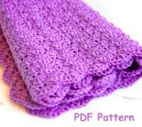 Crochet shell stitch baby blanket pattern - Easy crochet ...