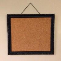 Items similar to Black Ornate Framed Bulletin Board ...