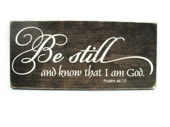 Rustic Wood Christian Sign Wall Hanging Home By