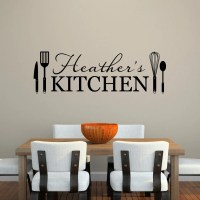 Kitchen Wall Decal Personalized Name Decal Kitchen