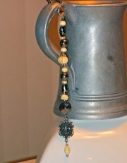 medium pirate hair beads charms