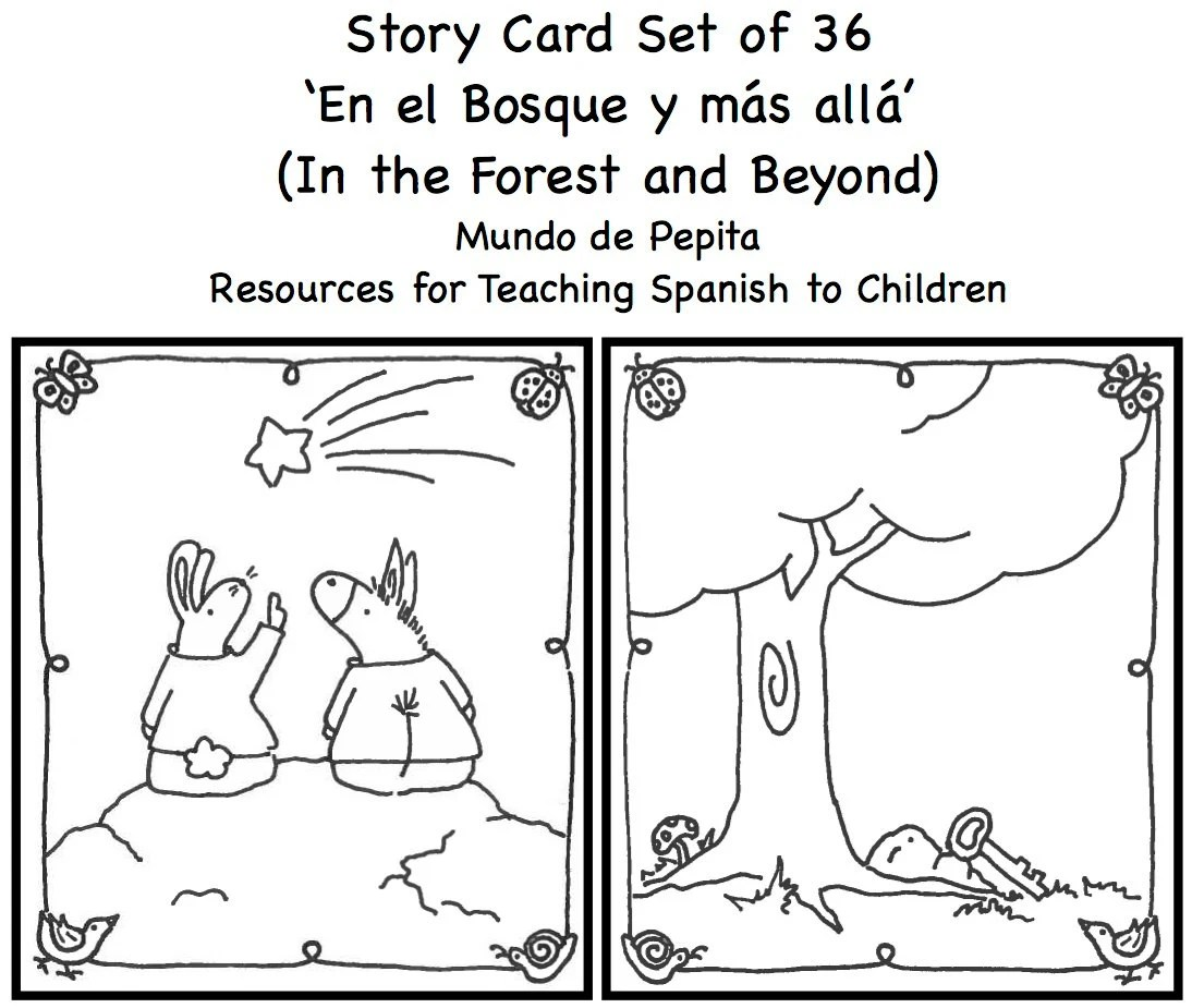 StoryTelling Cards Printable Set of 36 Resources for Teaching