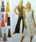 Halter Dress And Top Sewing Pattern Uncut Simplicity 4998