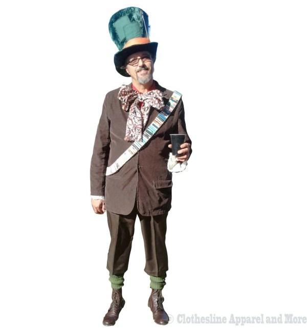 Mad Hatter Costume Men' L Xl Large X-large Johnny Depp