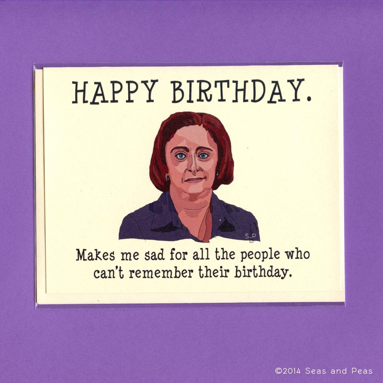 DEBBIE DOWNER BIRTHDAY Birthday Card Debbie Downer Funny