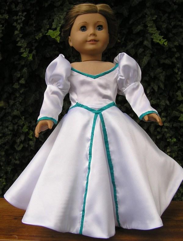 Little Mermaid Wedding Dress Pattern American Girl