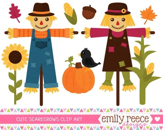 dollar scarecrows fall leaves