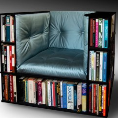 Chair With Built In Bookshelf Toddler Adirondack Luxury Club Library Bookcase Made To Order
