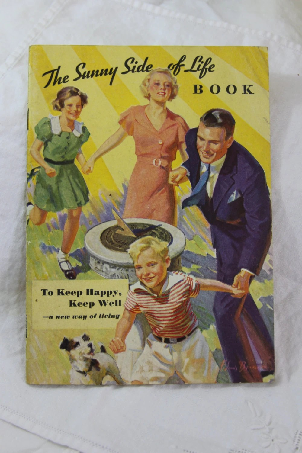 The Sunny Side of Life Vintage Book Kellogg�s 1934 - TheEvieMay