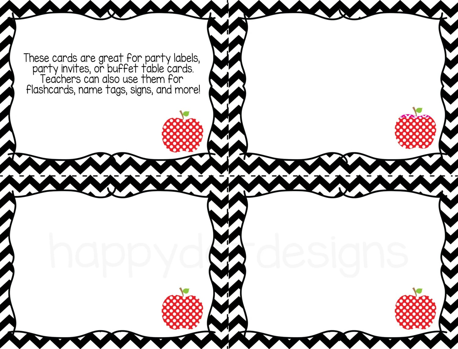 Printable Task Cards for Classroom Home School by