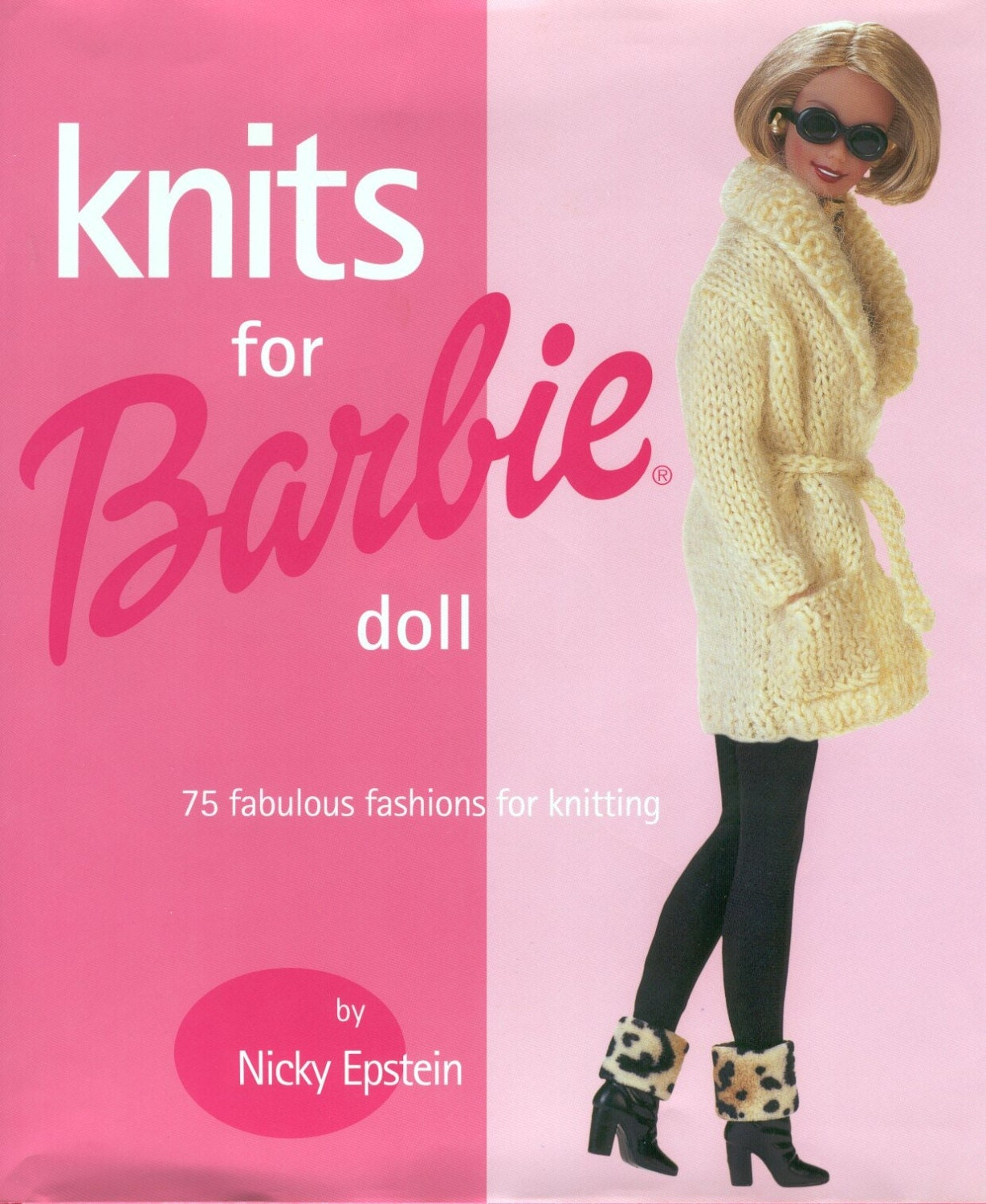 Knits for Barbie   over 25pcs Barbie Fashion style knit pattern book- Instant...