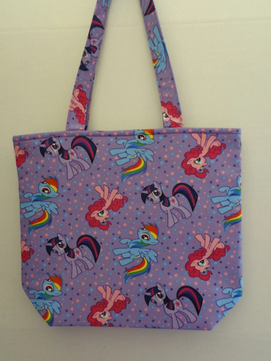 My Little Pony Tote Bag Book Bag Preschool By
