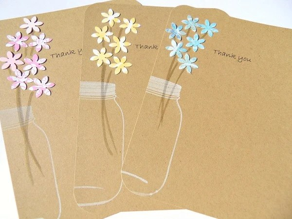 Thank You Cards Wedding Gift Thank You Cards Shower Git