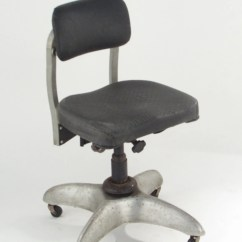 Office Chair Steel Base With Wheels Chairs For Nursery Goodform Metal Vintage By Vintagefurnitureme