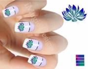 water slide nail art decals