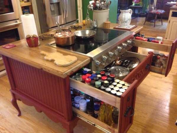 Furniture Style Shabby Chic Kitchen Island Theshoponskaggscreek